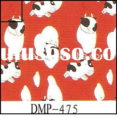 more than five hundred patterns cow print canvas fabric