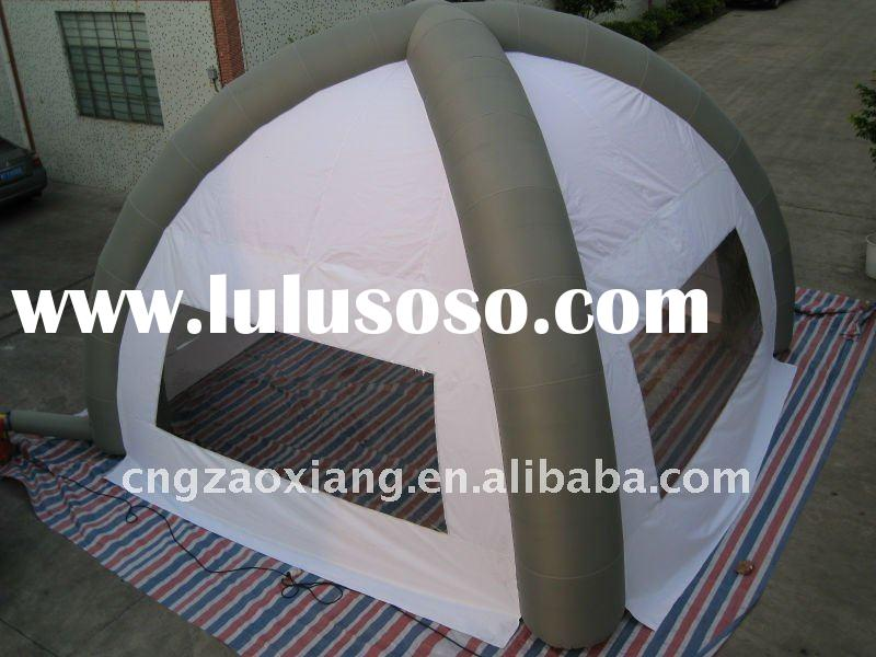 new PVC multifunctional inflatable camping ,arch and beach tent