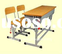 new style school desk and chair/school table and chair/school desk and chair