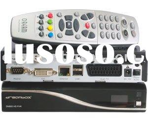 oem new dvb 800 hd pvr gemini satellite/cable receiver with pvr function support inner hdd 800hd pvr