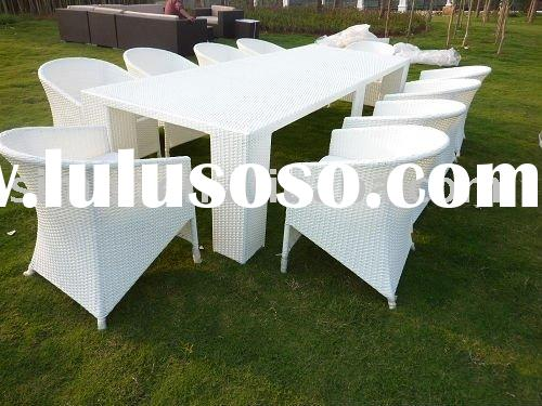 outdoor plastic dinner table and chairs SCTC-014