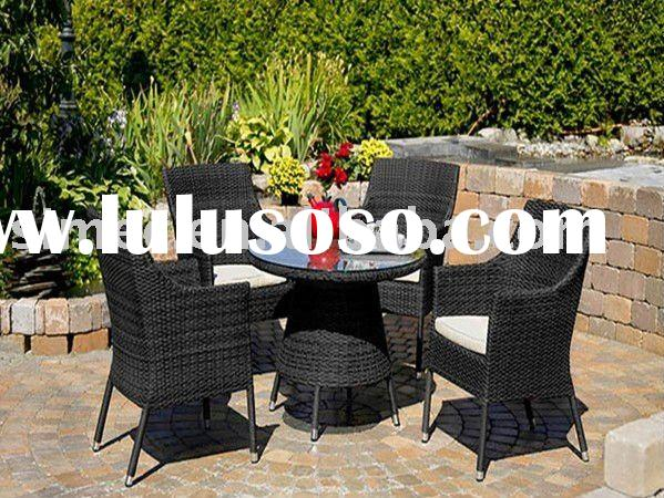 outdoor rattan coffee table and chairs set SCTC-024