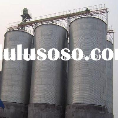 perfect complete steel silo to store wheat 500ton grain silo