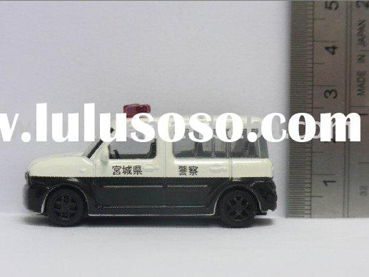 plastic Police toy car model toy