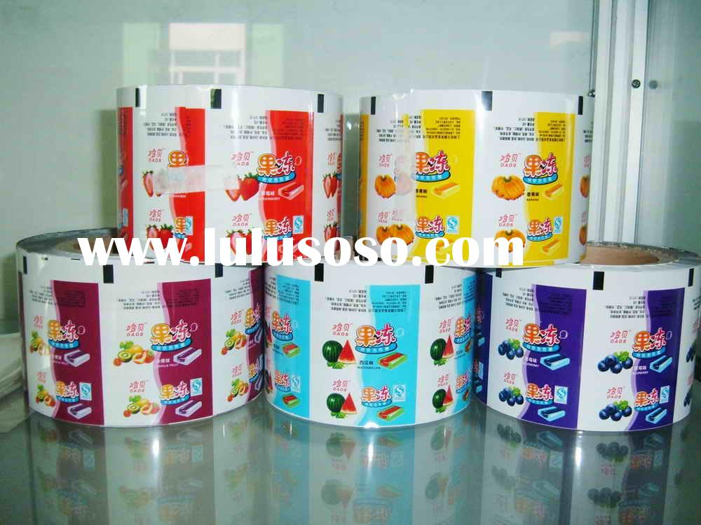 plastic packing bag(pillow type candy wrapper)