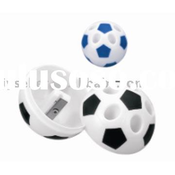 plastic pencil sharpener(football shaped pencil sharpener)