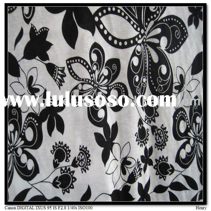 popular design of 100%combed cotton jersey fabric printed