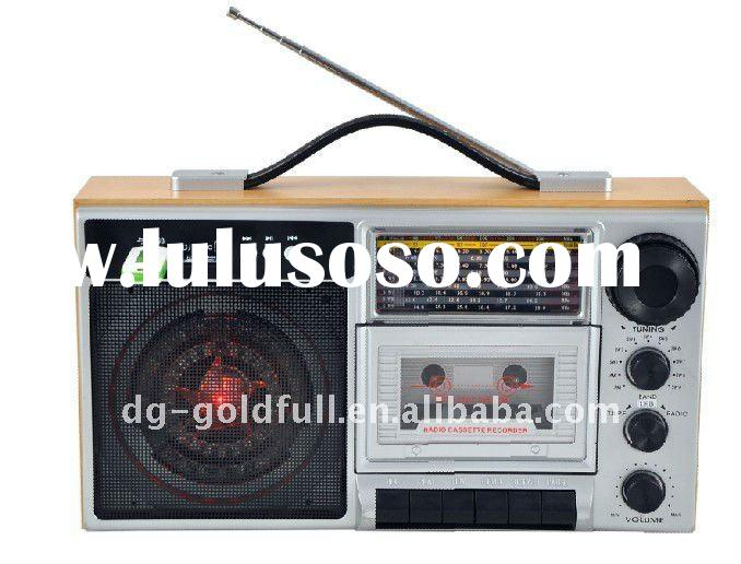 portable usb radio cassette recorder player