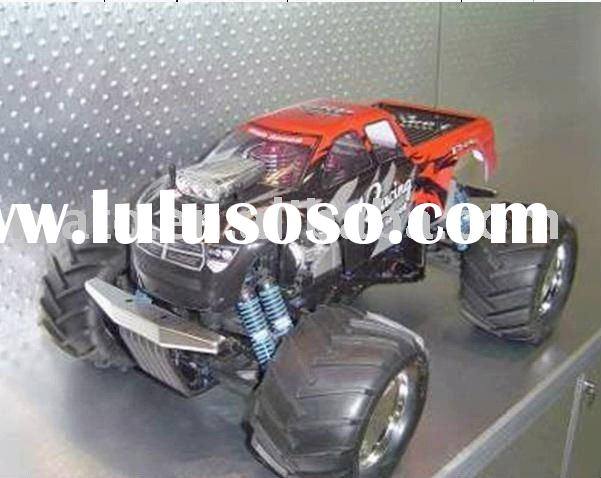 rc toy car-1/8 rc nitro car(double engine)