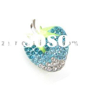 red apple 316L stainless steel navel body jewelry