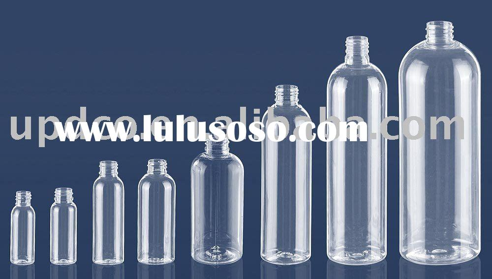 round shaped PET bottles / Cosmetic bottles / Plastic bottles