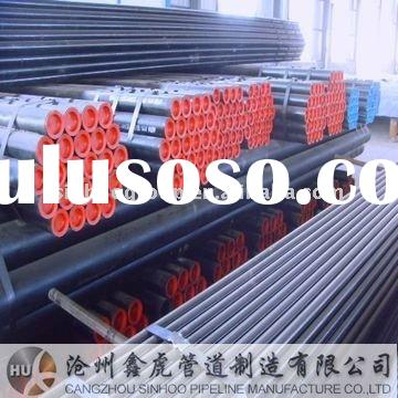 sch 80 seamless black steel pipe