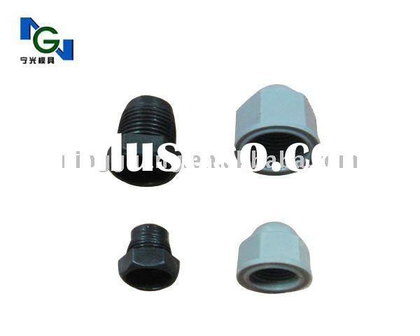 screw and nut cap plastic mould