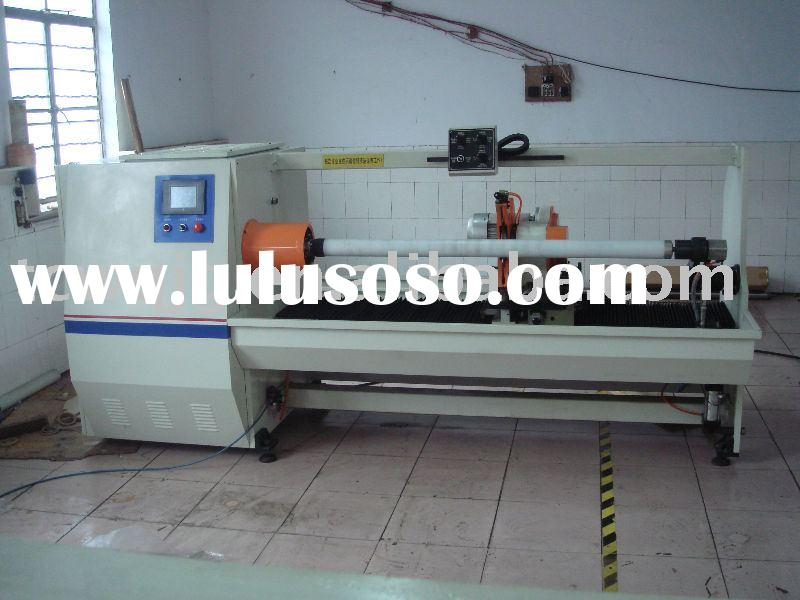 sell automatic double-side foam tape log roll cutting machine(wq)