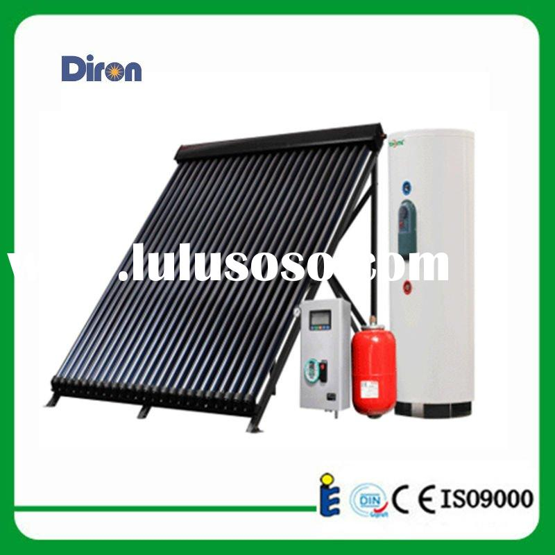 split heat pipe solar water heater system