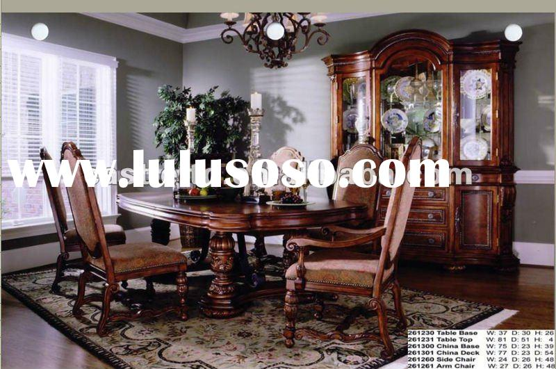 stock dining room set,stock furniture,stock wooden dining table and chair,stock antique wooden dinin