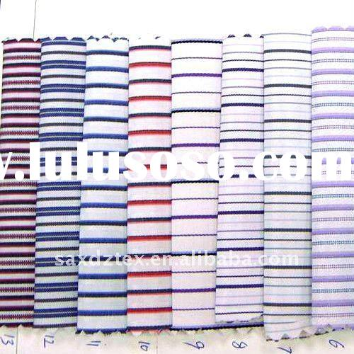 stock yarn dyed cotton check fabric