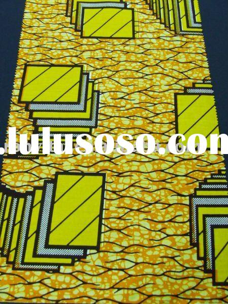 super wax printed fabric! fashion cotton African Fabric! Real wax print fabric!! (R18030)