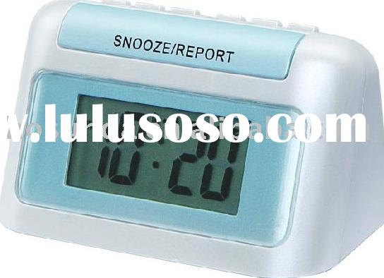 talking alarm clocks,talking timer,alarm clock,travel clock,digital clock,lcd clock