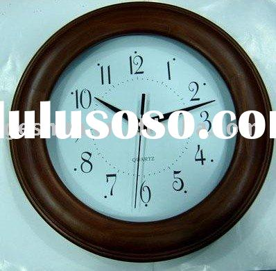 wooden clock,frame clock,craft clock