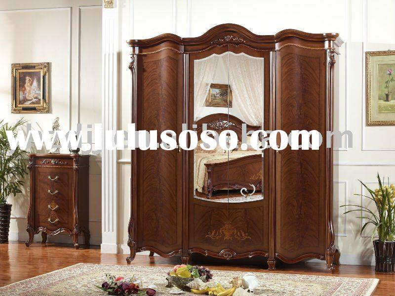 yuhuan antique furniture bedroom set/home furniture/wardrobe 8036