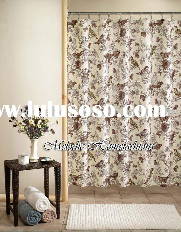Fabulous Fabric Shower Curtains with Birds 600 x 767 · 111 kB · jpeg