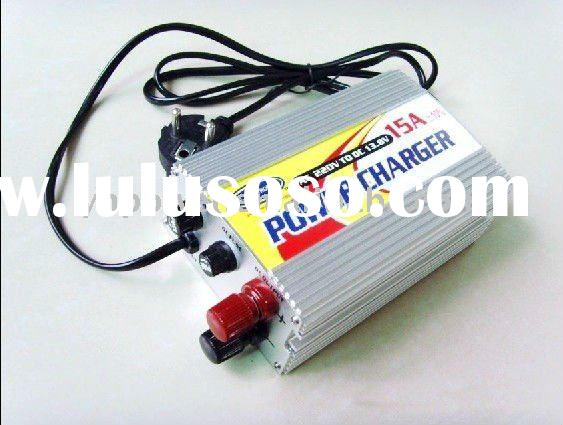 12V 15A lead acid/dry battery charger