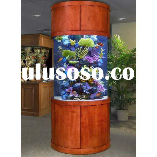 Round Fish Tank For Sale Round Fish Tank With Wood