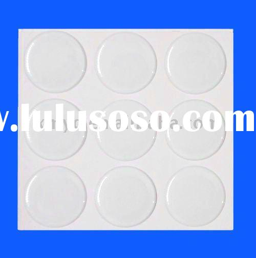 1 inch Clear Round Epoxy Stickers for Bottle Cap Seals