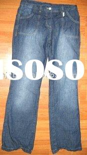 2010 children fashion jeans kids jeans children trousers kids wear