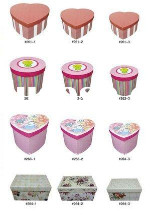 2011 High Quality Cup Cake Origami Paper Box