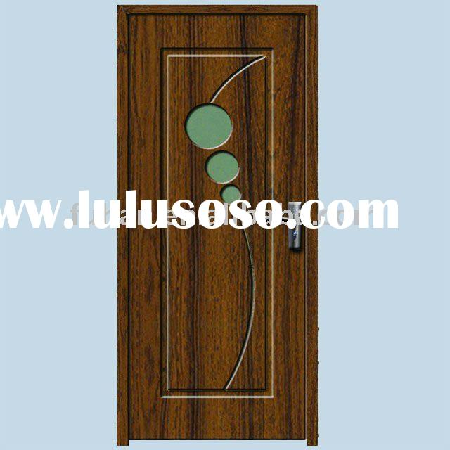 2011 Hot sell PVC MDF Interior wood door (CE)