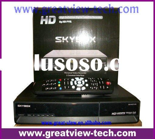 2011 hot sale HD digital satellite receiver Skybox S9 DVB-S2 HD set top box free to air receiver
