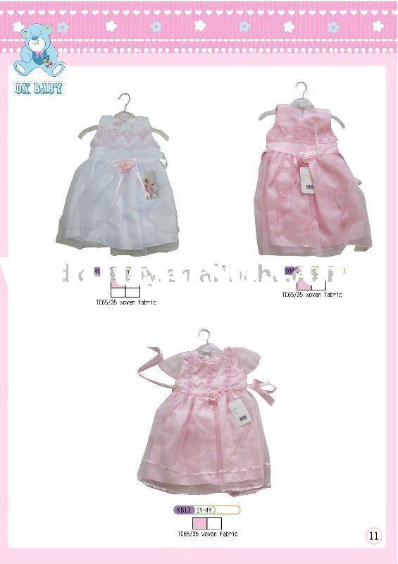 2011 new design fashion summer baby girl dress for hot sale