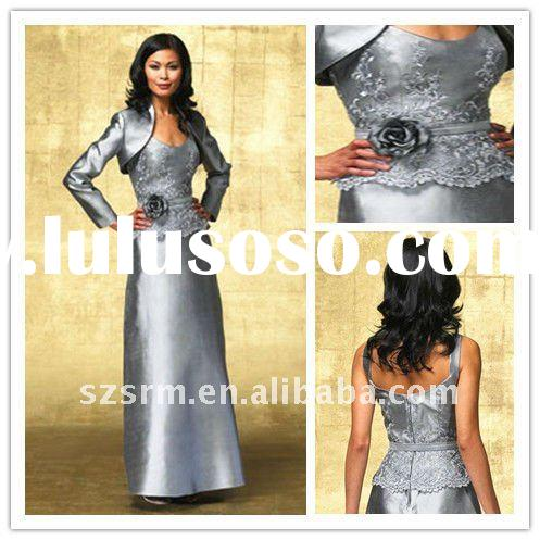 2011 winter fashion with jacket mother of the bride evening dress