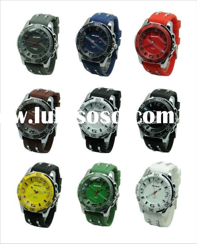 2012 New fashion watches movement china or japan charm sport style wrist watches men H3086