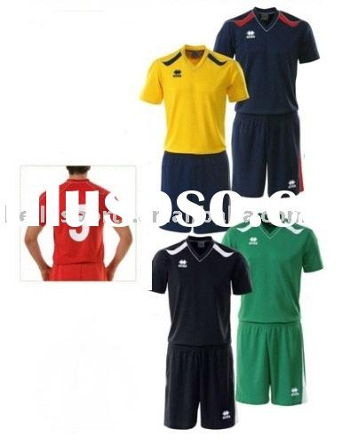 2012 Newest Boys/MensPolyester Training Volleyball Uniform