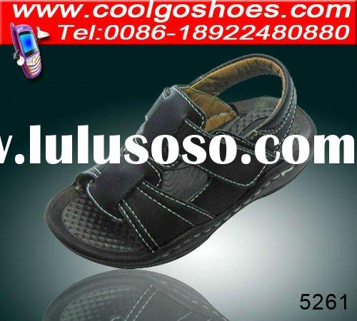2012 latest comfortable kids sandal made in China Coolgo Shoes