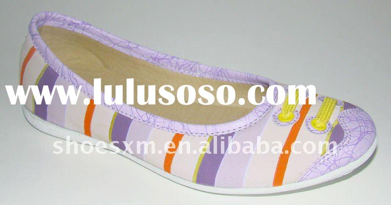 2012 latest design of women casual shoes