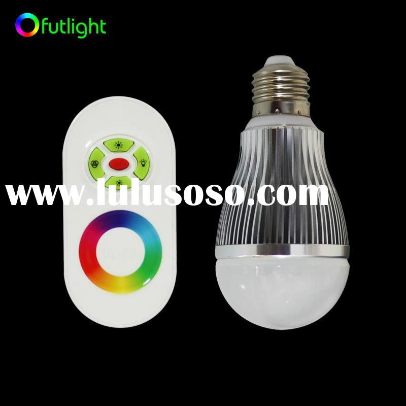 2.5W E26/E27/B22 Dimmable RGB LED Bulb