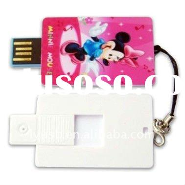 2gb credit card usb flash drive,2gb pen drive card type,2gb usb flash drive lanyard
