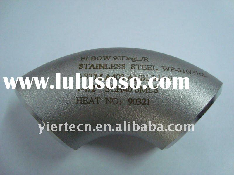 304 316 321 Seamless Stainless Steel Elbow