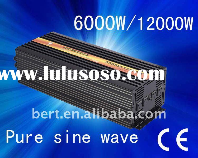 6000w Pure Sine Wave Power Inverter, DC 12V to AC 240V, Power Invertor