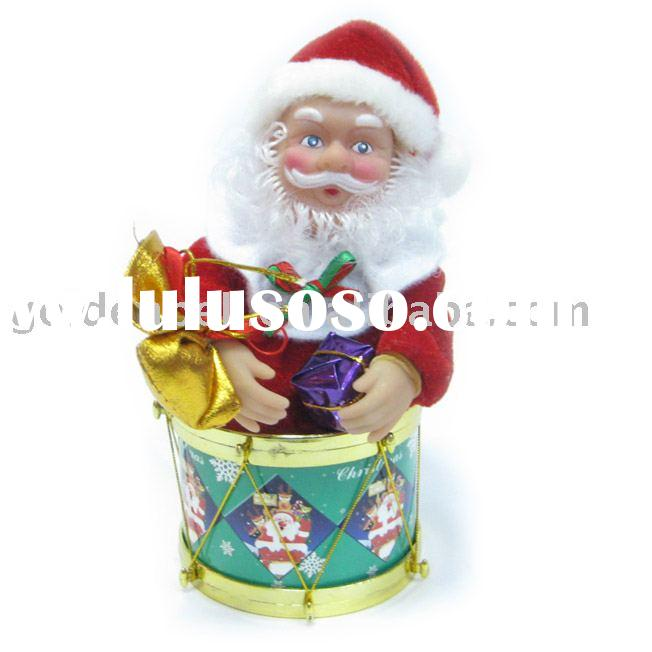 6'' dancing santa claus,christmas toy