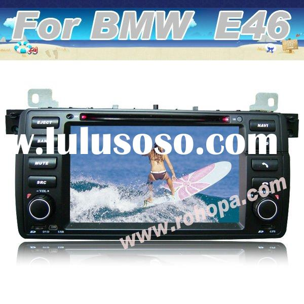 7inch digital touch screen car dvd gps 2 din with bluetooth,gps,radio tuner For BMW E46 (1998-2005)