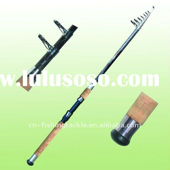 90%Carbon telespinning fishing tackle-006