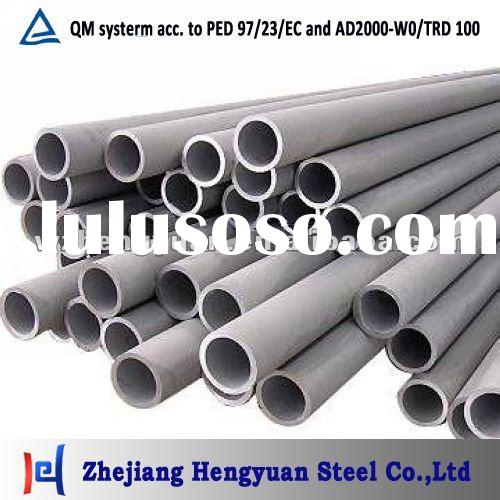 ASTM DIN JIS Stainless Steel pipe / tube Grade TP304 304L 316 316L 310S etc.