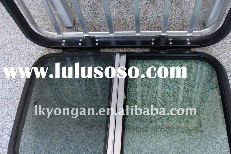 Aluminum Framing Horse Trailers Outward-push Window