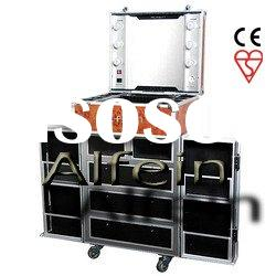 Aluminum Make Up Case with mirror&drawers