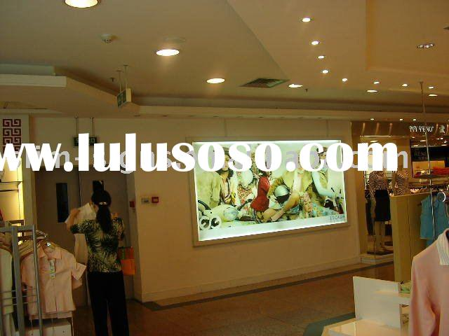 Aluminum slim outdoor light box,indoor POP snap frame,waterproof led advertising sign